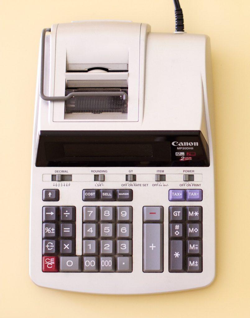 bankruptcy myths - adding calculator